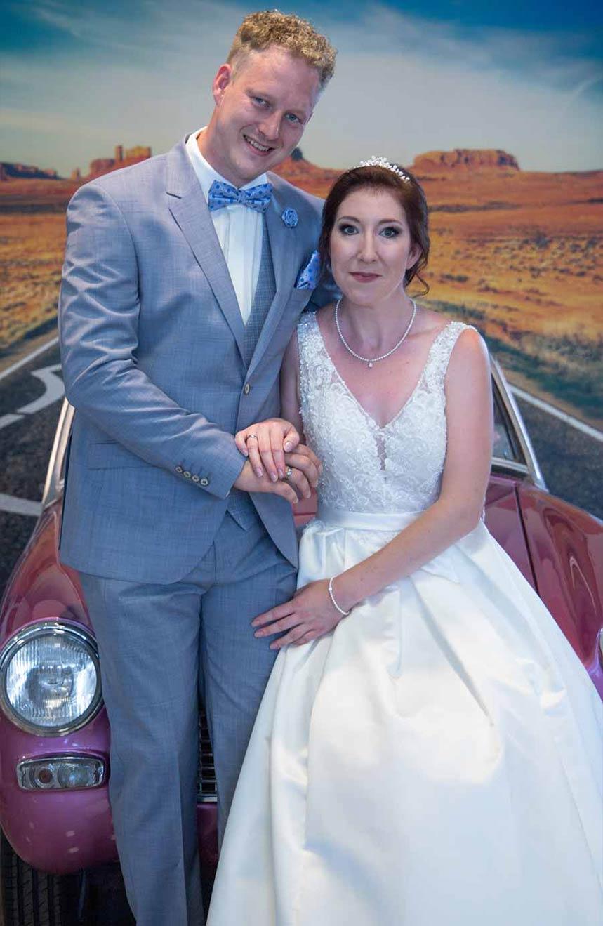 P&S Das Friseurduo - Gestyltes Brautpaar