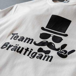Druckhaus Menne - T-Shirt Junggesellenabschied Bräutigam