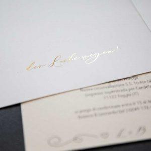 Druckhaus Menne - Einladungskarte im schlichten Design