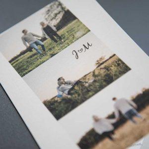 Druckhaus Menne - Einladungskarte mit Fotoserie