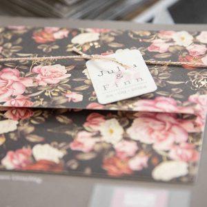 Durckhaus Menne - Einladungskarte Rosenprint