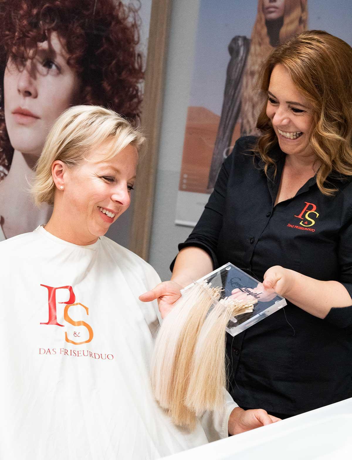 P&S Das Friseurduo - Beratung Haarverlängerung
