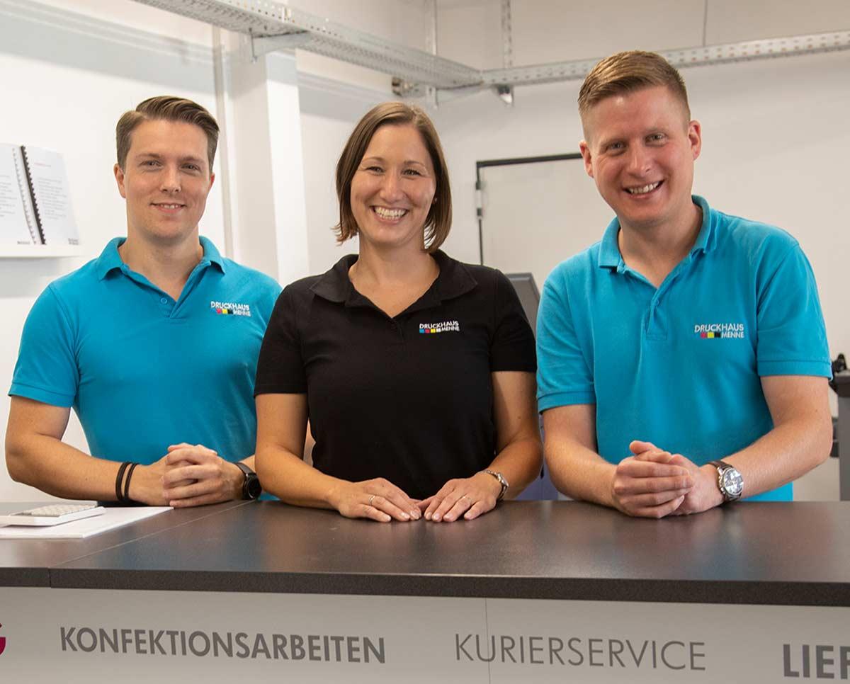 Druckhaus Menne - Das Team für exklusive Drucksachen
