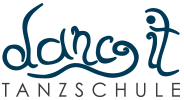 "Just Celebrate | Tanzschule ""dance it"" Logo"