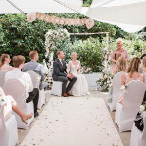 Just Celebrate | Hochzeitszeremonie im Hotel Hanseatischer Hof